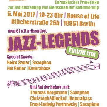 Freejazz Konzert im House of Life am 5. Mai 2017