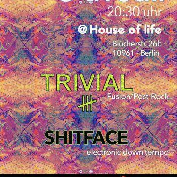 Super Konzertabend im House of Life präsentiert von Kiez Community am 5. Juli um 21 Uhr in der Blücherstraße 26b, 10961 Berlin