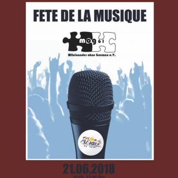 Fête de la Musique 2018: die größte Bühne im Kiez!